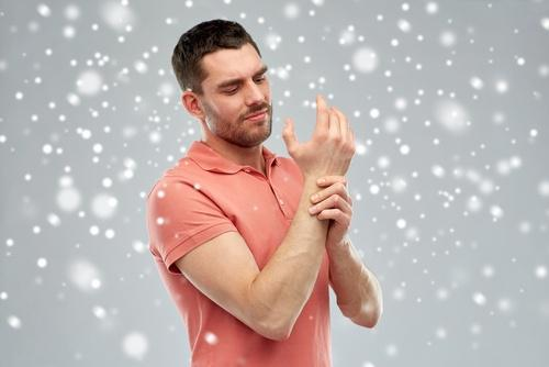 Joint pain in winter