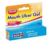 Nyal Mouth Ulcer Gel Raspberry10g