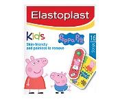 Elastoplast Kids Peppa Pig Plasters 16 Pack
