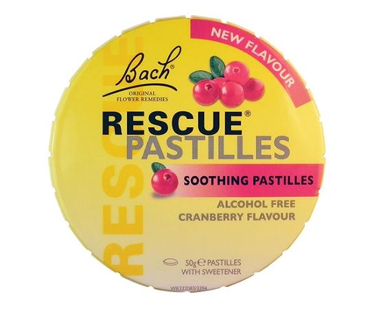 Bach Rescue Remedy Cranberry Pastilles 50g