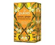 Pukka Lemon, Ginger & Manuka Honey Tea Bags 20 Pack