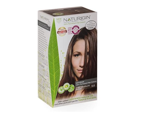 Naturigin 5.0 Light Chocolate Brown Natural Permanent Hair Colour