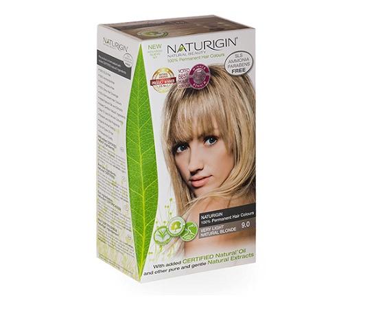 Naturigin 9.0 Very Light Natural Blonde Natural Permanent Hair Colour