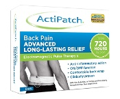 ActiPatch Electomagnetic Pulse Therapy Back Pain Patch