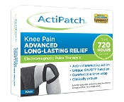 ActiPatch Electomagnetic Pulse Therapy Knee Pain Patch