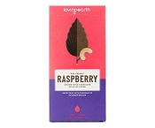 Lovingearth Organic Raspberry Cashew Mylk Chocolate Bar 80g