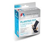 Thermoskin Walk On Plantar FXT Compression Crew Socks Medium