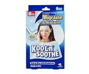 Kool 'n Soothe Migrane & Headache Relief Strips 6 Sheets
