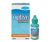 Optive Advanced Lubricant Eye Drops 15ml (Expiry November 2021, no refund or exchanges)