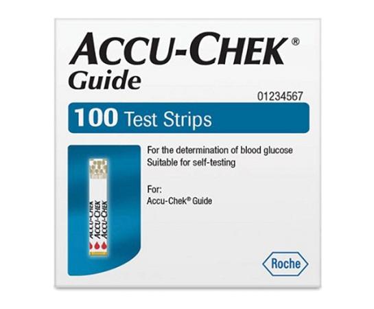 Accu-Chek Guide Glucose Test Strips 100 Strips