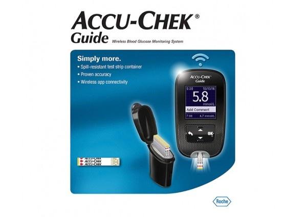 Accu-Chek Guide Wireless Blood Glucose Monitoring System