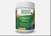 Quality Health Tumeric 3100mg 100 Tablets