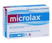 Microlax Enemas 5ml x 12 Pack