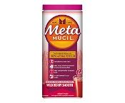 Metamucil Fibre Supplement Wild Berry Smooth 425g 72 Doses