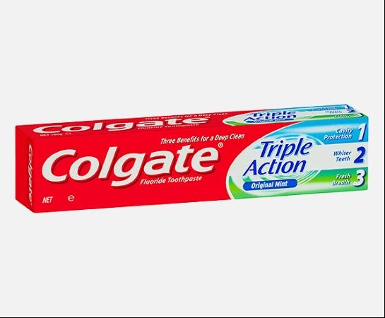 Colgate Triple Action Original Mint Toothpaste 110g