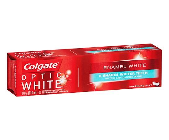 Colgate Optic White Enamel White Mint Toothpaste 140g