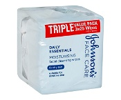 Johnsons Moisturising Cleansing for Dry Skin 3 x 25 Facial Wipes