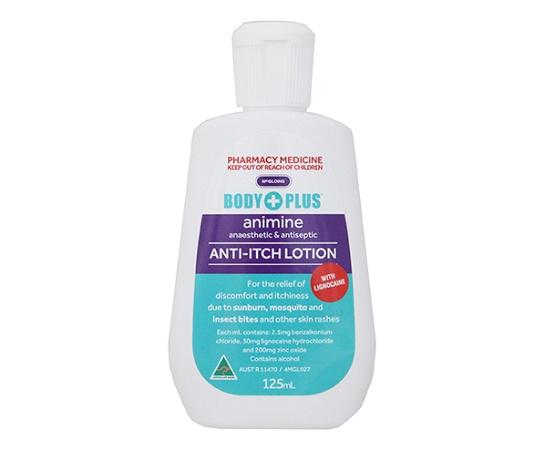 Body Plus Animine Anti-Itch Lotion 125ml