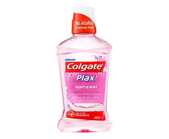 Colgate Plax Mouthwash Gentle Mint 500mL