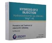 HYDROXO B12 INJ 1MG/1ML X3