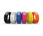 Parakito Mosquito Repellent Adult Colour Wristband (Assorted colours, colour selected at random)
