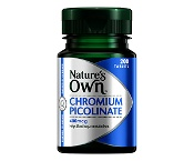 Natures Own Chromium Picolinate 400mcg 200 Tablets