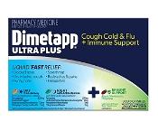 Dimetapp Ultra Plus Cough Cold & Flu + Immune Support 24 + 7 Liquid Capsules