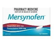 Mersynofen 12 Tablets