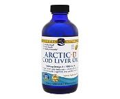Nordic Naturals Arctic-D Cod Liver Oil Lemon 237ml