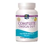 Nordic Naturals Complete Omega 3.6.9 Lemon 60 Soft Gels