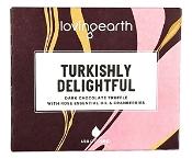 Lovingearth Turkishly Delightful Bar Dark Chocolate with Cranberries & Rose Oil 45g