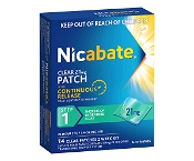Nicabate Clear Patch 21mg Step 1 Quit Smoking 14 Patches