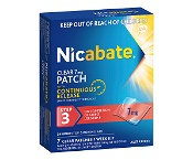 Nicabate Clear Patch 7mg Step 3 Quit Smoking 7 Pack