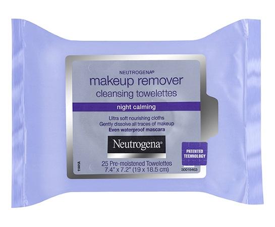 Neutrogena Make-Up Remover Night Calming 25 Wipes
