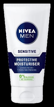 Nivea Men Sensitive Moisturiser SPF15 75ml