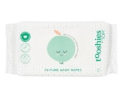 Tooshies by Tom 70 Pure Baby Wipes