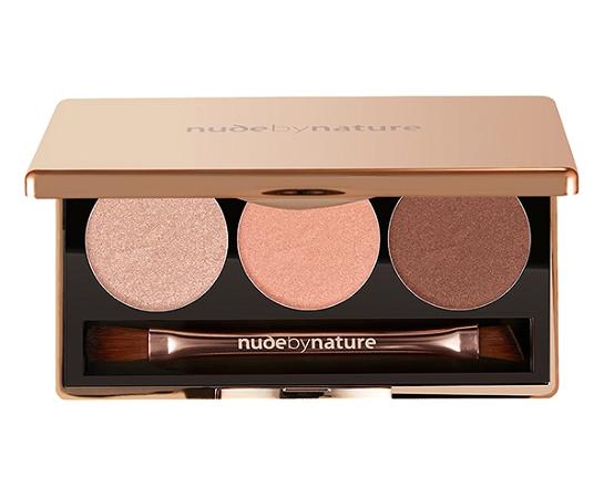 Nude by Nature Eyeshadow Trio 03 Rose