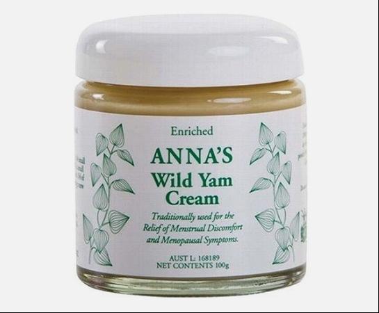 Annas Wild Yam Cream 100g