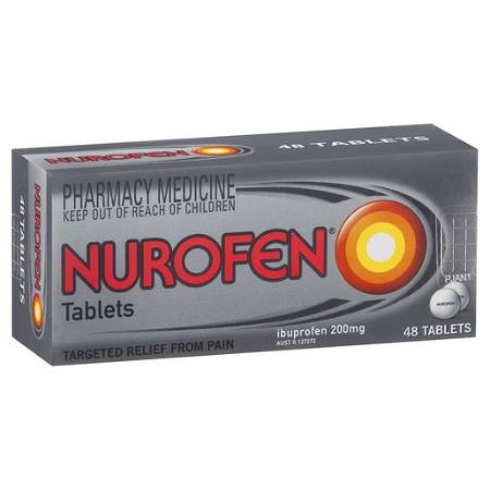 Nurofen Tablets 48 Tablets