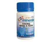 Schuessler Tissue Salts Kidz Minerals Strong Bones & Teeth 100 Tablets