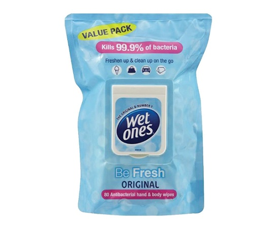 Wet Ones Be Fresh 80 Pack
