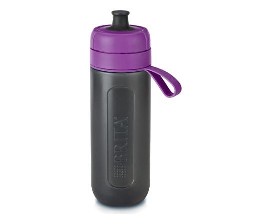 Brita Active Fill & Go Purple Filter Bottle 600ml