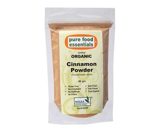 Pure Food Essentials Organic Cinnamon Powder 80g