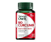 Natures Own Bio Curcumin 550mg 60 Capsules