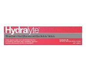 Hydralyte Effervescent Electrolyte Tablets Strawberry Kiwi 20 Pack