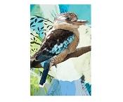 KE Design Tea Towel Kookaburra