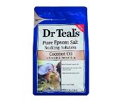 Dr Teals Epsom Salt Coconut Oil 1.36kg