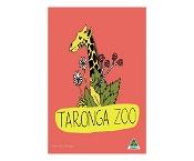 KE Design Tea Towel Taronga Zoo Pale Red