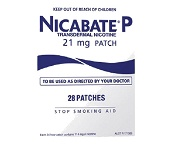 Nicabate P Patch 21mg Quit Smoking 28 Patches