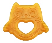 Haakaa Natural Rubber Baby Teether Smiling Owl